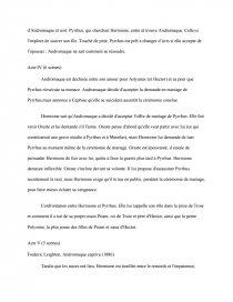 Dissertation andromaque