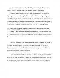 dissertation sur le respect