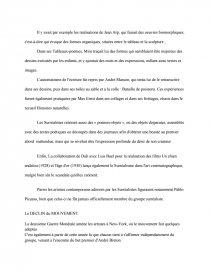 dissertation gratuite sur le surrealisme
