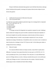 Rapport De Stage Bac Pro Tu Technicien D Usinage