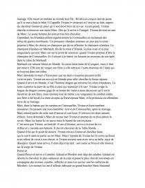 le roi arthur de michael morpurgo resume