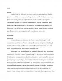 dissertation sur la vie devant soi de romain gary