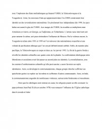 dissertation sur le plan marshall et la bipolarisation