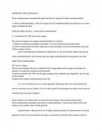 dissertation droit constitutionnel l1 semestre 1