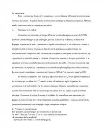 Introduction Sur Le Classicisme dissertations et fiches de lecture