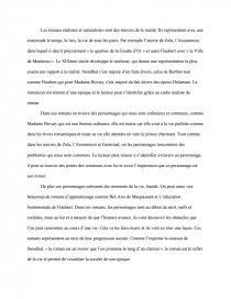 dissertation sur le realisme et naturalisme