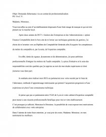 Lettre De Motivation Dcg Alternance Recherche De Documents