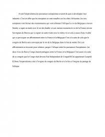 sujet de dissertation sur limpérialisme en afrique