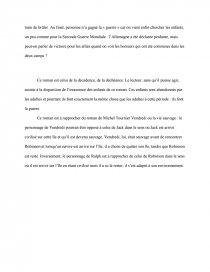 Resume de sa majeste des mouches goodbye mr chips book report