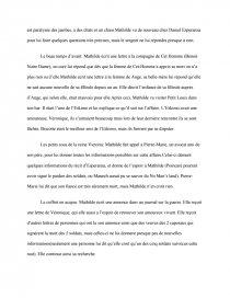 dissertation un long dimanche de fiançailles