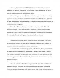 Préface Anthologie Amour Note De Recherches Clemencea