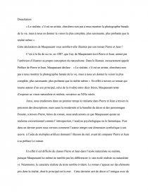 La Preface Du Roman De Pierre Et Jean Memoire Dilymsha Dissertation