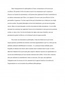 La dissertation de philosophie en France