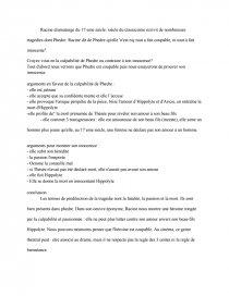 Conclusion de dissertation sur le thatre
