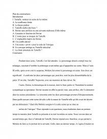 dissertation tartuffe