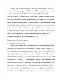 dissertation lingénu voltaire