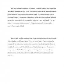 dissertation le supplément au voyage de bougainville