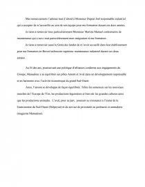 Rapport De Stage Remerciements Rapport De Stage Azerty6940