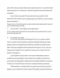 service public pierre angulaire du droit administratif dissertation