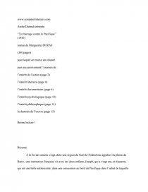 dissertation sur le barrage contre le pacifique