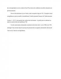dissertation utilisation privative du domaine public