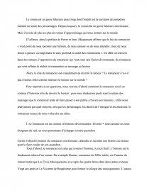 dissertation maupassant le but du romancier