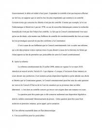 dissertation la qpc une reforme necessaire