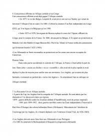 dissertation sur les rivalités impérialistes en afrique