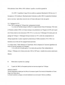 dissertation sur les rivalites imperialistes en afrique