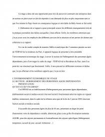 Rapport Ash Note De Recherches Dissertation