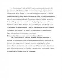 dissertation 17eme siecle