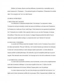dissertation baroque classicisme