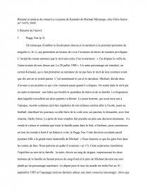 Le Royaume De Kensuke Compte Rendu Bogota