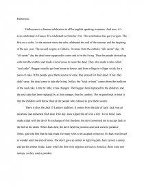 Theme Anglais Halloween Note De Recherches Mm12