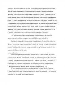 dissertation au bonheur des dames naturalisme