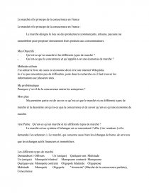 dissertation sur le monopole et loligopole