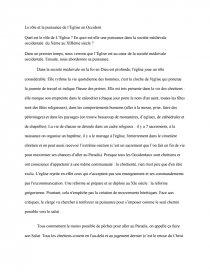 dissertation leglise face aux cathares