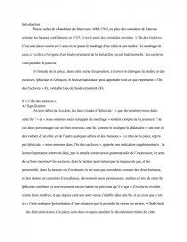 dissertation ile des esclaves de marivaux