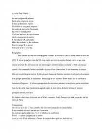 dissertation liberté de paul eluard