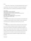 Analyse PESTEL (document en espagnol)