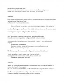 Analyse Du Poème Demain Dès Laube De Victor Hugo