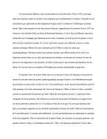 étude Du Roman Chêne Et Chien De Raymond Queneau Mémoire