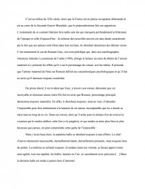 romain gary la promesse de laube dissertation