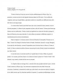 tristan et iseult chapitre 5 documents gratuits dissertation
