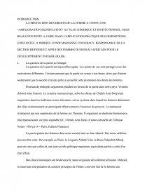dissertation sur la parite au senegal