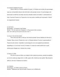Resume Fable Livre 7 Dissertation Dissertation