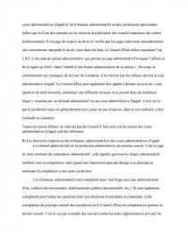 la constitutionnalisation de la juridiction administrative dissertation