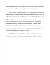 dissertation ruy blas drame romantique