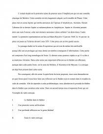 dissertation amphitryon molière