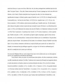 dissertation madame bovary moeurs de province